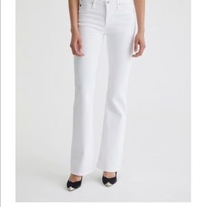 AG angel bootcut jeans with subtle flare